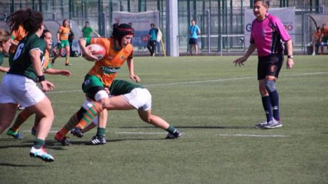 Valencia acoge la Primera Copa de la Reina de rugby femenino