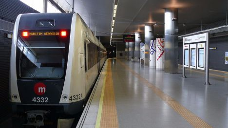 Joan Ribó exige que se finalicen las obras del Metro de Valencia