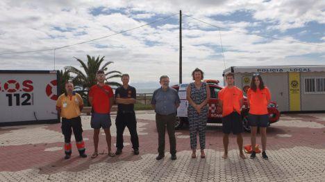 El servicio municipal de socorrismo en playas realiza más de 300 intervenciones en dos meses