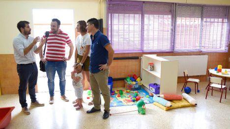 Se crea un aula de dos años en el colegio L'Illa del Grau