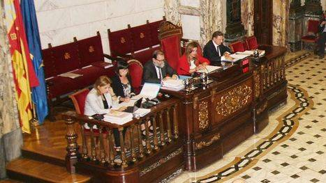 El Pleno del Ayuntamiento de Valencia requiere al estado la eliminación de la tasa de reposición de policía local y bomberos