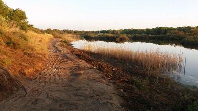 El ayuntamiento de Valencia regenera la orilla de la laguna del Racó de L'olla