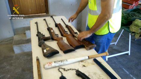 Desmantelada en Valencia una organización criminal implicada en más de 100 hechos delictivos