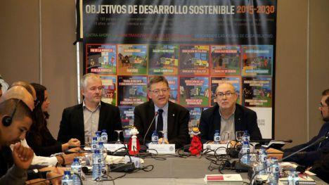 Puig defiende las alianzas administrativas para garantizar los Objetivos de Desarrollo Sostenible