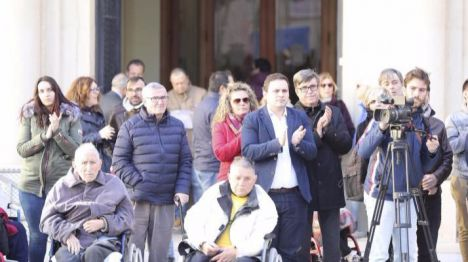 López reitera el compromiso del equipo de Gobierno por hacer un Castellón accesible a todos