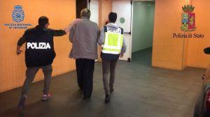 La Policía Nacional detiene en Alicante al histórico mafioso italiano Fausto Pellegrinetti huido desde 1993