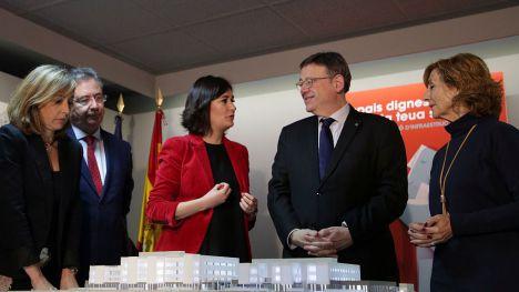 Puig y Montón destacan la centralidad de las personas y la participación ciudadana en el proyecto del nuevo espacio sanitario de Campanar
