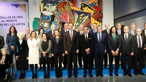 Los valencianos Magüi Mira Franco y Manuel Borrás Arana, Medallas de Oro al Mérito a las Bellas Artes