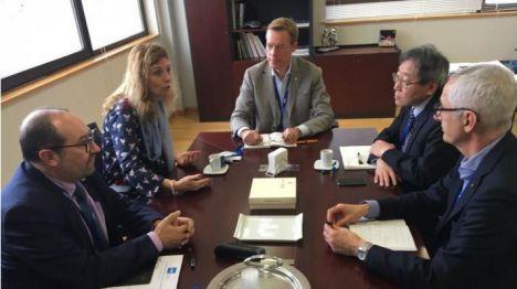 Marco propone a empresas del Serrallo impulsar medidas para lograr un Castelló aún más sostenible
