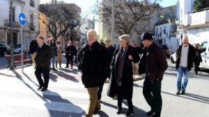 El alcalde de Valencia anuncia la remodelación del parque de la Ermita de Carpesa