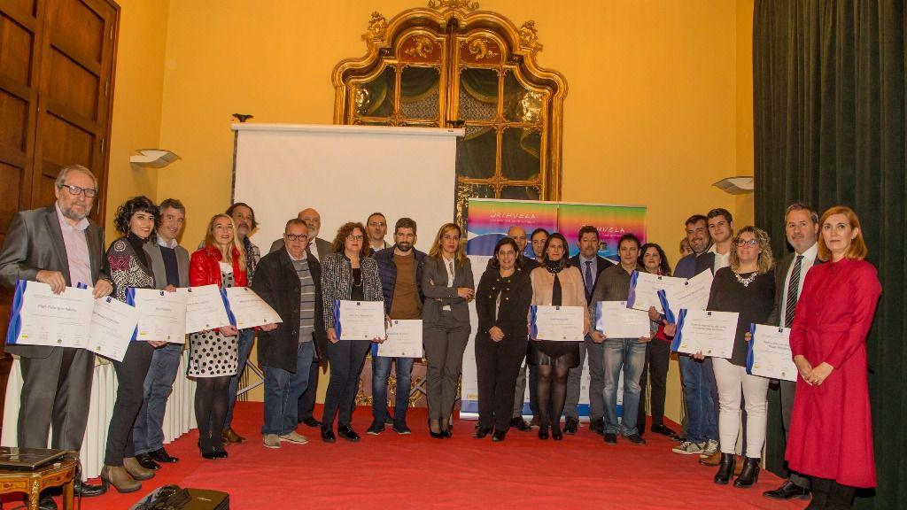 La Agència Valenciana del Turisme entrega 20 distintivos de calidad turística en Orihuela