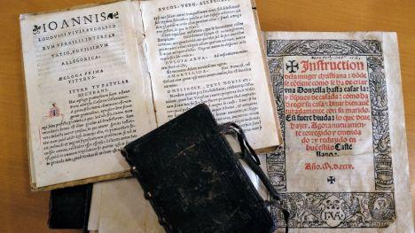 La Biblioteca Valenciana incrementa la colección con la compra de obras de Luis Vives y Arnau de Vilanova