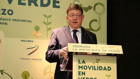 Puig define la sostenibilidad medioambiental como una 'absoluta exigencia' para las administraciones públicas