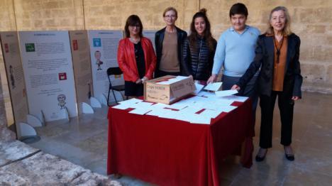 La Biblioteca Valenciana envía a la ONU 800 cartas con consejos de niños y niñas para cumplir los Objetivos de Desarrollo Sostenible