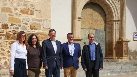 Puig subraya la necesidad de crear fórmulas desarrolladas junto con los habitantes del interior para parar la despoblación
