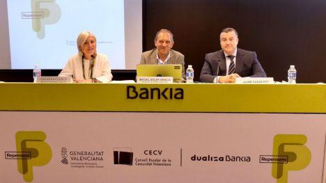 Educación presenta con Dualiza Bankia el informe del Consejo Escolar Valenciano 'Repensem l'FP'