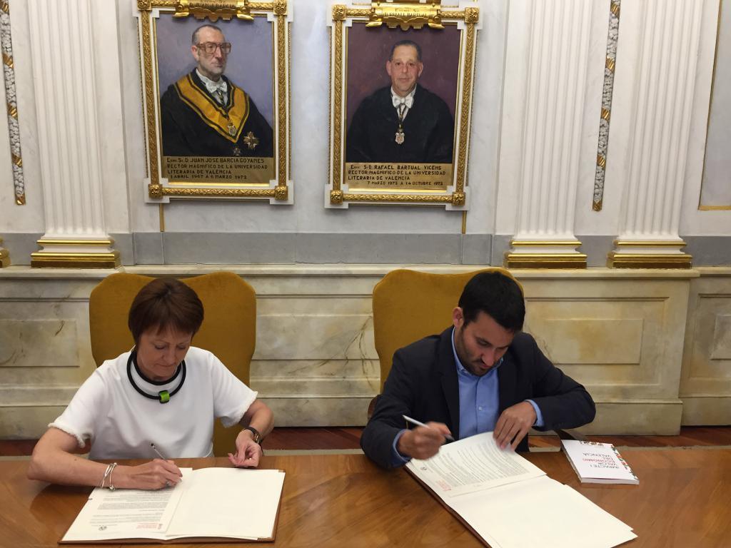 Educación y la Universitat de València se unen para la creación de la Cátedra de Derechos Lingüísticos