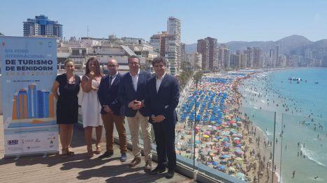 Colomer apuesta por el liderazgo en innovación y tecnologías turísticas en la presentación del Foro Internacional de Turismo de Benidorm
