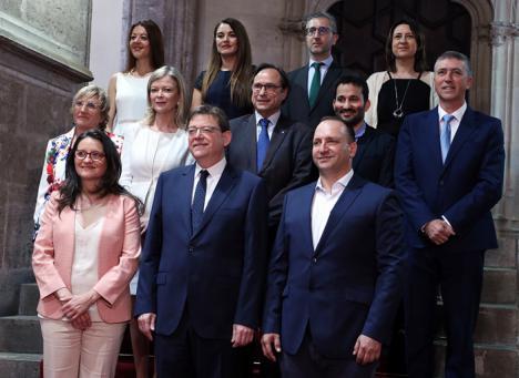 Ximo Puig destaca que el segundo Gobierno paritario de la Comunitat asume la 'ambición colectiva' de acabar con la violencia machista