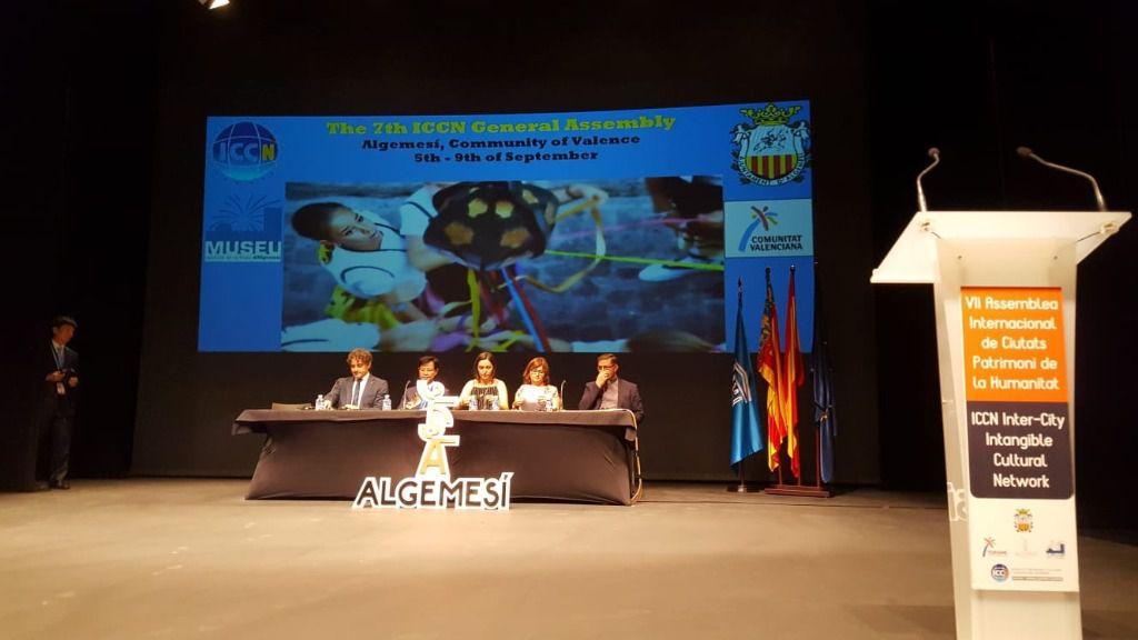 Colomer inaugura la Asamblea de Ciudades Patrimonio que se celebra en Algemesí