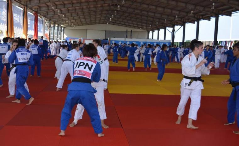 La I Concentración Internacional de Judo Alicante reúne a 700 deportistas
