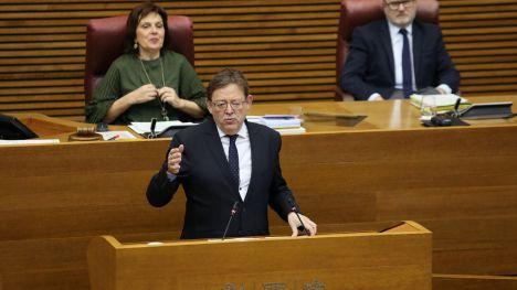 Puig afirma que el aval del Parlamento Europeo a los ejes Sagunto-Teruel-Zaragoza y Madrid-València como redes prioritarias 'acaba con la injusticia'