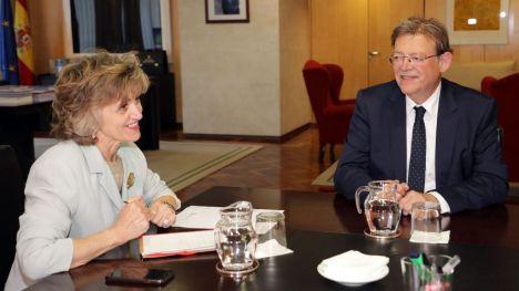 Puig se reúne con la ministra de Sanidad, Consumo y Bienestar Social