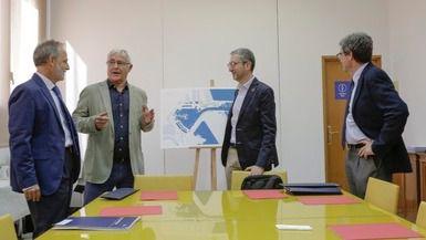 Reunión entre Joan Ribó y responsables de la Generalitat y del Puerto para una mejor accesibilidad