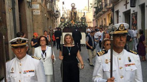 La vicealcaldesa de Alicante preside el 75 Aniversario de la Coronación de la Virgen del Carmen