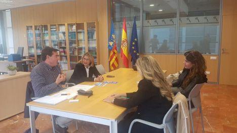 Mari Carmen Sánchez se reúne con el director general de Turismo de la Generalitat Valenciana
