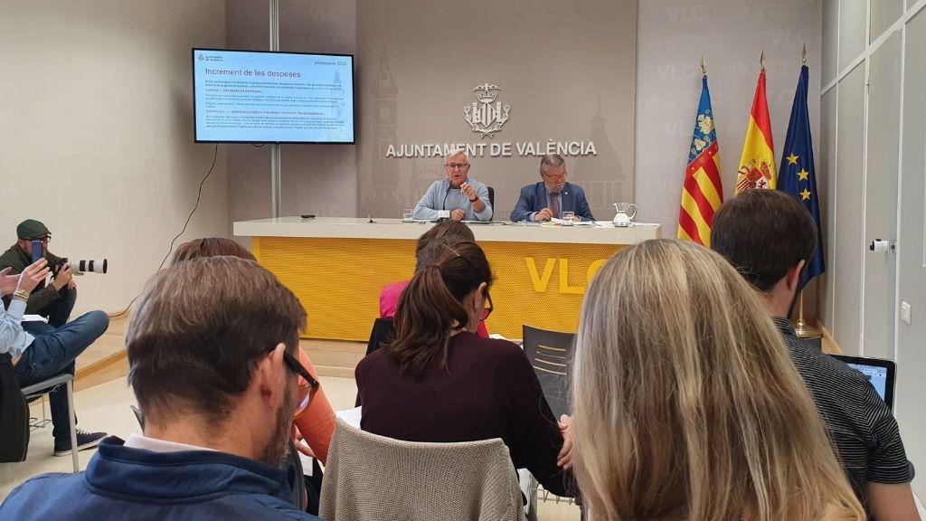 Ribó confirma que se han retenido los primeros 150.000 euros del fraude cometido contra la EMT