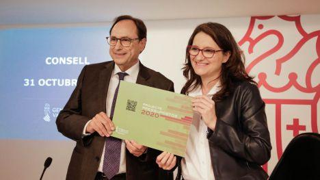 Soler: 'El Presupuesto de 2020 es el más alto de la historia de la Generalitat'
