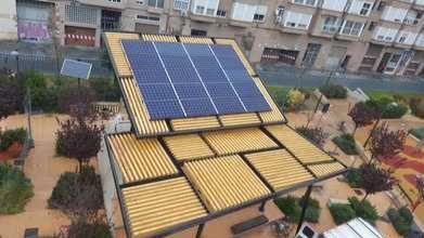 València instalará cinco pérgolas fotovoltaicas en cinco barrios de la ciudad