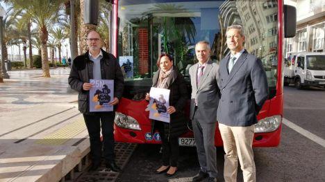 150 autobuses urbanos se suman al Día Internacional contra la violencia contra las mujeres