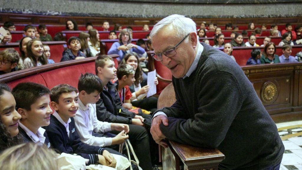 Ribó: 'València ha de ser un espacio abierto e igualitario donde los niños y las niñas también seáis protagonistas'