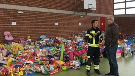 El Ayuntamiento de Alicante y los bomberos del SPEIS agradecen la solidaridad de los Alicantinos