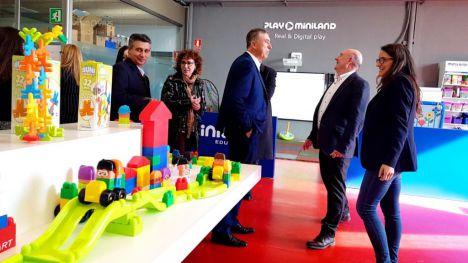 Oltra y Climent apoyan a las empresas valencianas presentes en la Feria Mundial del Juguete