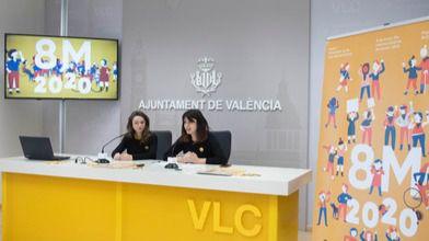 El ayuntamiento de Valencia reivindica el papel de la juventud,«Impulsora de la cuarta ola del Feminismo».