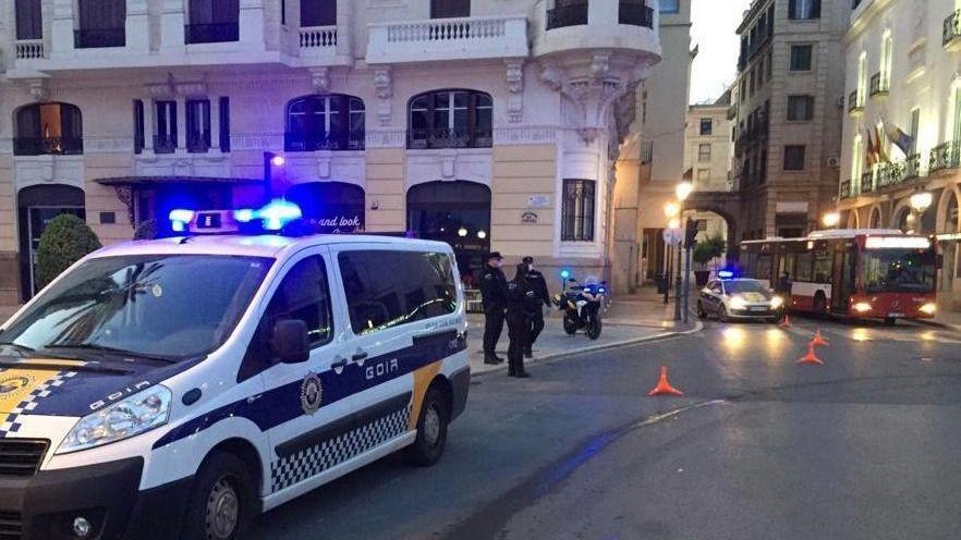 La Policía Local de Alicante intensifica los controles de personas