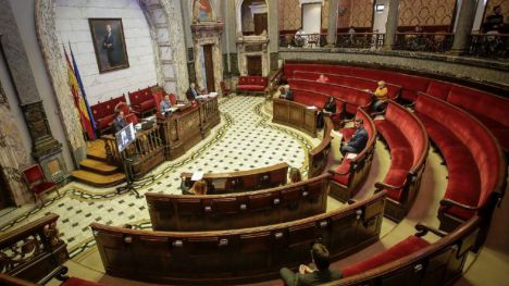 Unanimidad en el Pleno del Ayuntamiento de Valencia ante la crisis del coronavirus