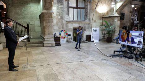 Ximo Puig anuncia una herramienta de detección precoz del coronavirus en aguas residuales