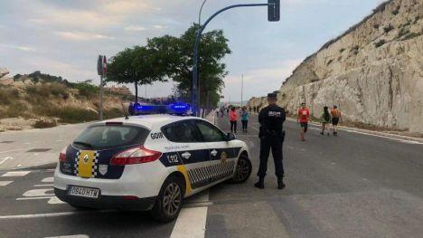 Alicante cierra otro tramo de la Vía Parque sumando ya ocho peatonalizaciones