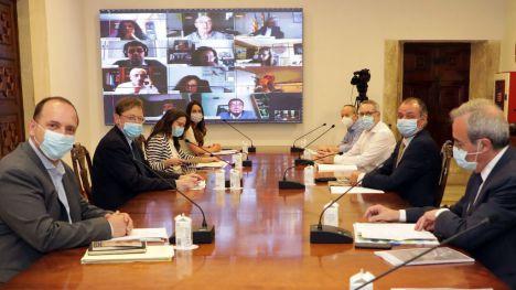 Puig aboga por el diálogo social para avanzar en un gran acuerdo que permita 'salir unidos y fuertes' de la crisis