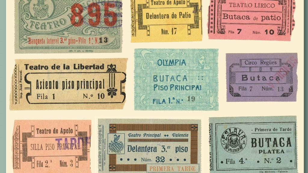 La Biblioteca Valenciana presenta la exposición 'online' 'Teatro a Escena' sobre fondos de teatro y dramaturgos