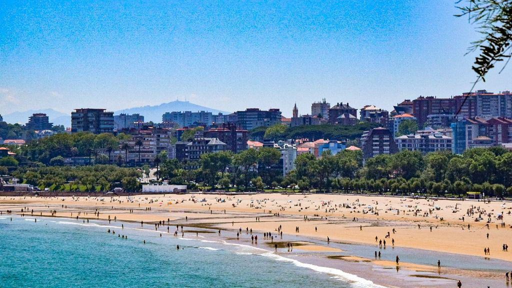 Playa de 'El Sardinero', Santander