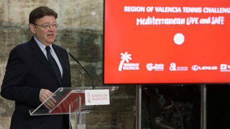 Ximo Puig anuncia la celebración del 'Region of Valencia Tennis Challenge'