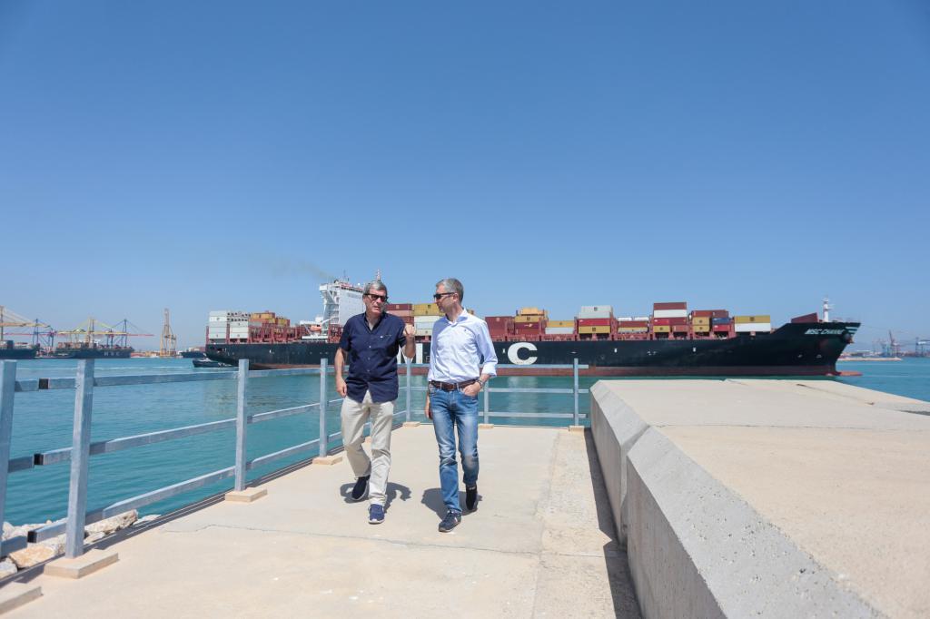 El conseller Arcadi España pone en valor el Puerto de València como patrimonio de todos los valencianos y valencianas