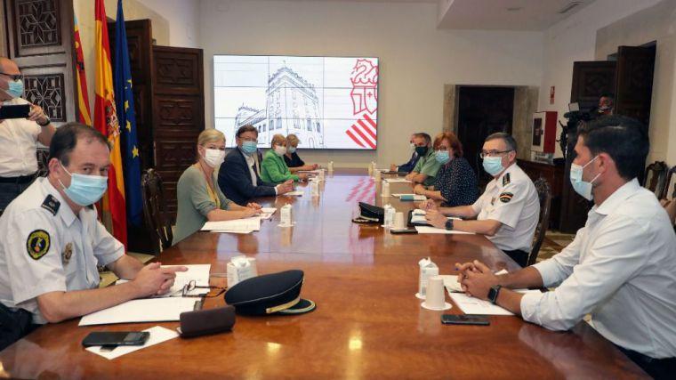 El hospital de campaña de Alicante acogerá a las personas migrantes que lleguen a las costas valencianas