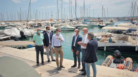 Arcadi España anuncia una prórroga de diez años para las concesiones del puerto de Xàbia