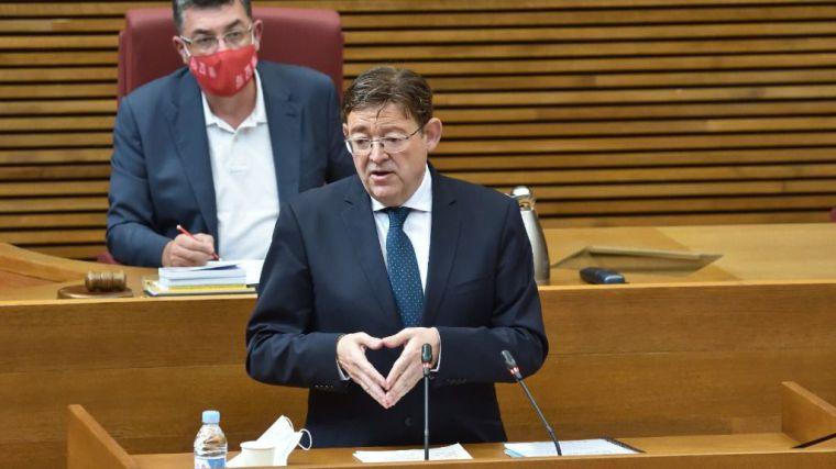 Puig ve como 'gran oportunidad' el Fondo Europeo para acelerar la recuperación valenciana